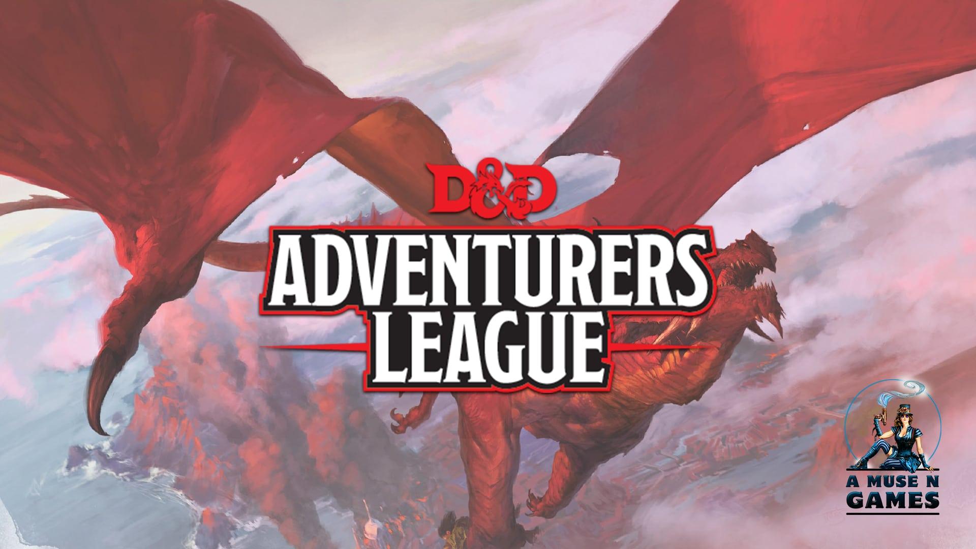 D Amp D Adventurer S League Season 8 A Muse N Games