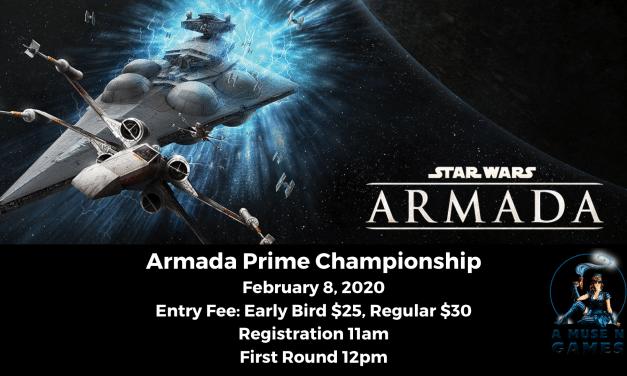 Star Wars Armada Prime Championship 2020